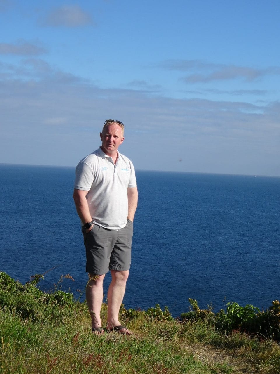 A Letter from the Director: mage of Gareth Griffiths, director at Jet Ski Safaris Plymouth.